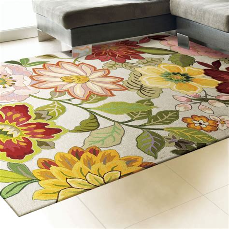 flowered rugs bouquet floral area rugs