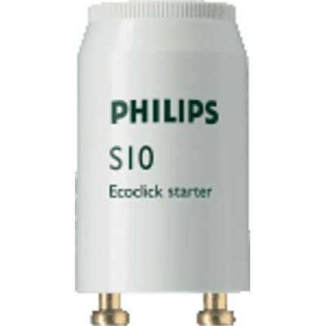 S10 P Lu Tl Starter Philips Stater S 10 P Neon 4 65w S10 P N 233 Ons Fluorescents Achat Vente Pas Cher