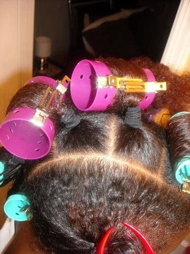 the trick to roller setting wet hair dominican blowout best 25 roller set natural hair ideas on pinterest