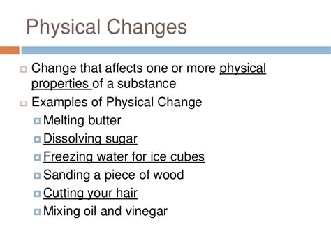 pics for gt exles of physical change