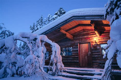 kakslauttanen log cabins kakslauttanen arctic resort stay in glass igloos in finland