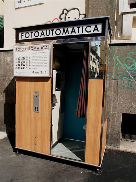 cabina fototessera fotoautomatica firenze quattro scatti negli anni 70 te