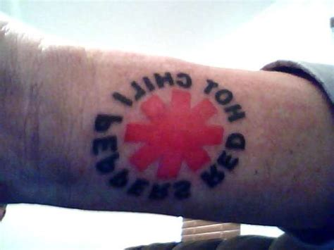 red hot chili tattoo red hot chili peppers tattoo