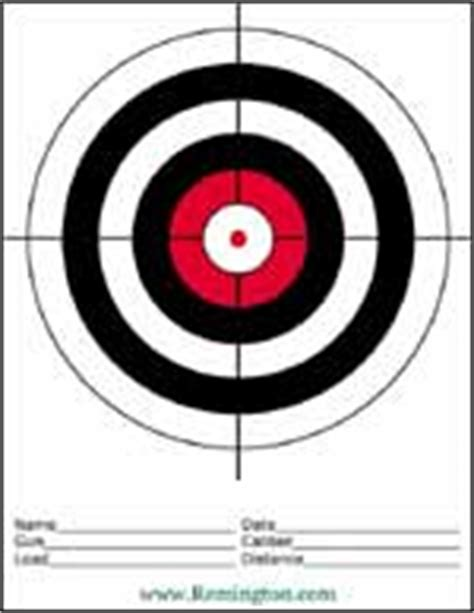 printable targets midway jb firearms targets