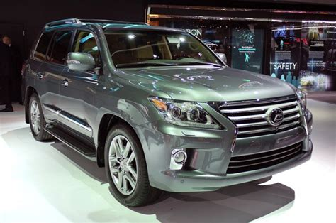 Lexus 570 Lx 2013 by 2013 Lexus Lx 570 Gets Gs Inspired Minor Facelift