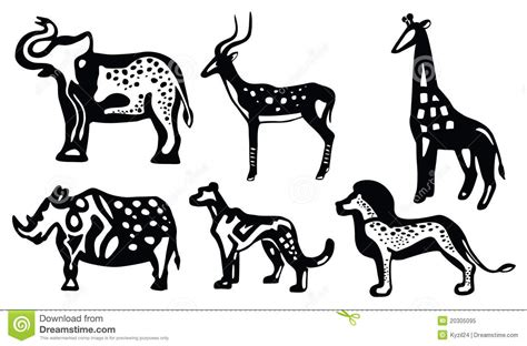 african animals royalty  stock photo image