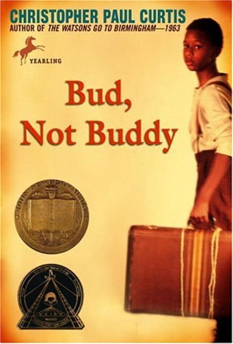 themes of the book bud not buddy top 100 children s novels 60 bud not buddy by