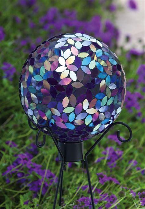 glass ball garden decorations garden decoration ideas