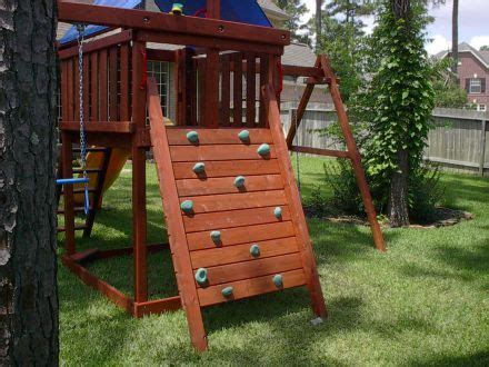 wood swing set plans do it yourself how to build diy wood fort and swing set plans from jack s