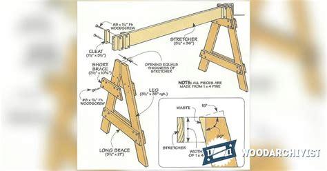 knock down picnic plans adjustable folding plans home design idea