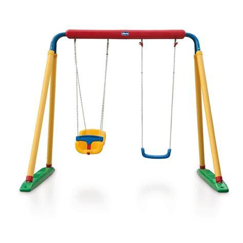 altalena da giardino per bambini swing center chicco