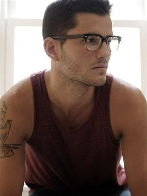 hot guys with nerd glasses cool hairstyles for men with glasses ideas and pictures