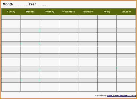doc 1000765 monday to sunday schedule template free