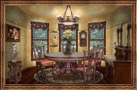 victorian dining room how to create affordable victorian style living room