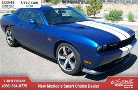 sale  passenger car dodge challenger srt