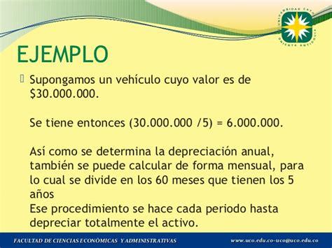 factores de depreciacin de los vehiculos por ao de a ntiguedad 2016 tenencia deduccion por depreciacion y amortizacion