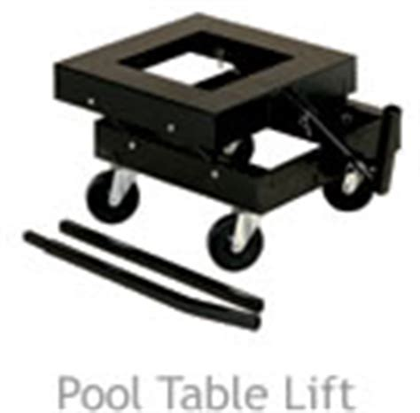 pool table lift dolly