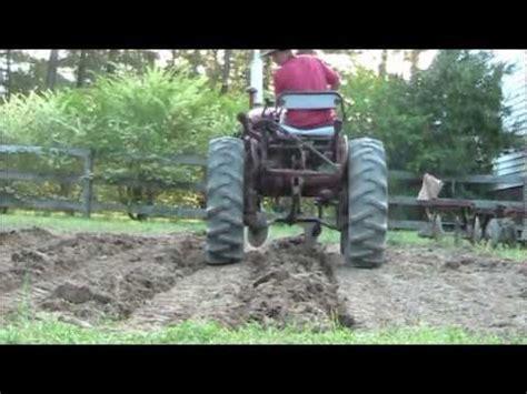 farmall  making rows youtube
