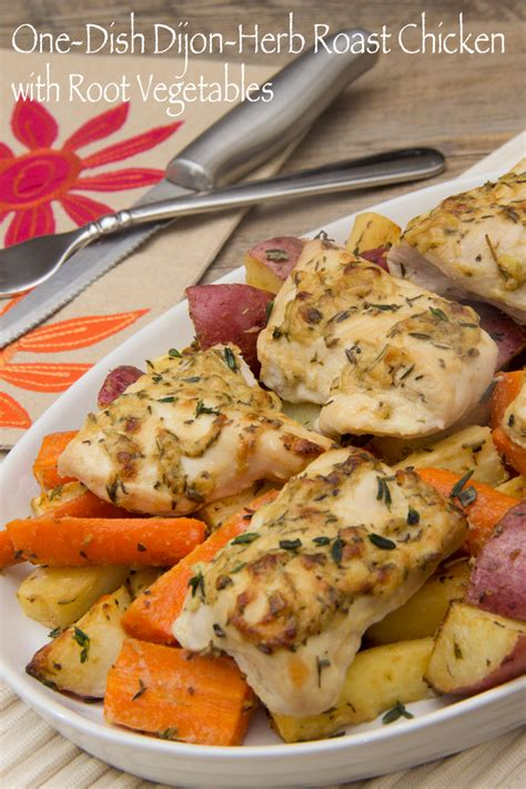 roast chicken root vegetables herb roasted chicken and vegetables recipes dishmaps