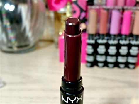 Nyx Casing Warna Warni Butter Lipstick Ecer nyx dahlia high voltage lipstick review fancieland