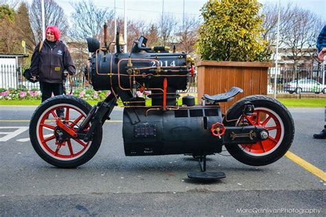 Boss Hoss Motorrad Nautilus by Steunktendencies Real Steam Powered Bike Top All