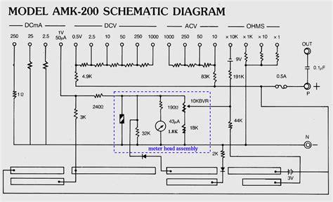 wiring diagram for voltmeter 28 wiring diagram images