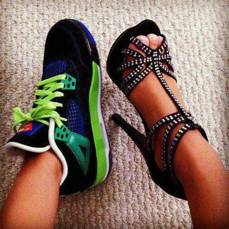 high heels and sneakers sneakers vs heels shoes
