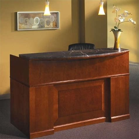 mayline sorrento reception desk mayline sorrento reception desk with marble counter srcdm