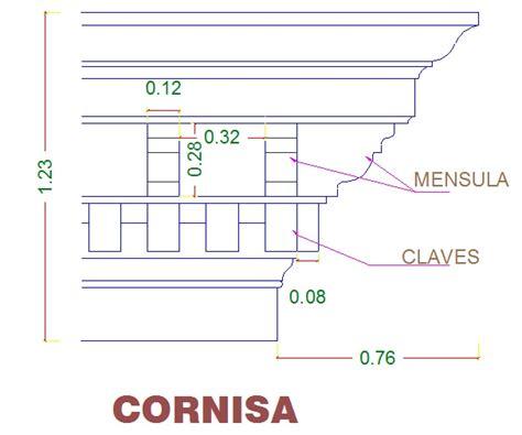 cornisa construccion instituto zorrilla arquitecturava