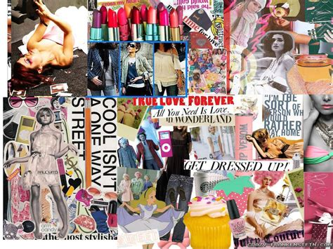 fashion collage wallpapers crazy frankenstein