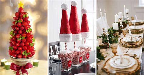 ideas originales para navidad decoracion creativas y originales ideas para decorar tu mesa en navidad