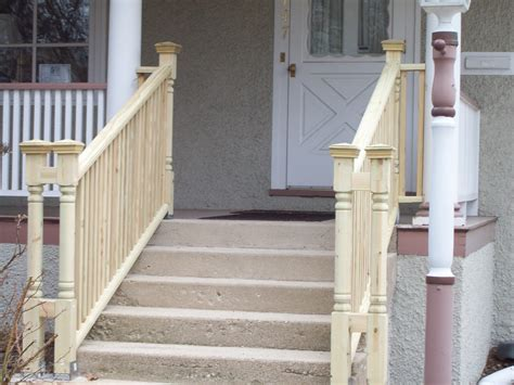 river forest stairs pre paint view 2 woods home