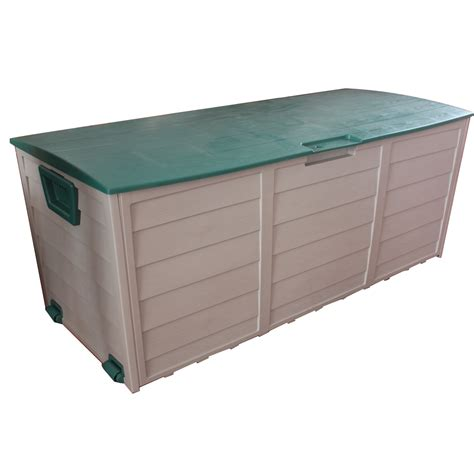 Plastic Garden Storage New Garden Outdoor Plastic Storage Chest Shed Box