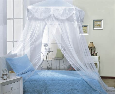 Princess Canopy Bed White Four Corner Square Princess Bed Canopy By Sid