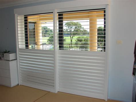 Sliding Shutters For Sliding Glass Doors Decorate Bathroom With Sliding Door Shutters