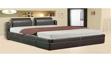 Platform Bed With Storage Underneath Platform Bed With Drawers Image Of Platform Bed With Storage Drawers Header Lax Series