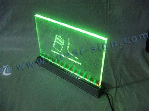 China Laser Cut Acrylic Led Edge Lit Sign Panels For Cutting Led Lights