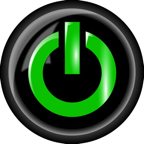 picture of a power button power button clip at clker vector clip