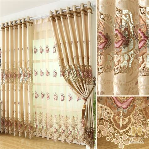 new curtains luxury see through tulle for curtain 2015 new arrival