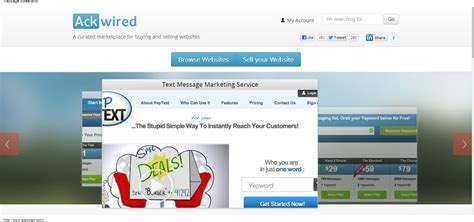 Ackwired Sell A Website And Make Quick Profit Makemoneyinlife Com