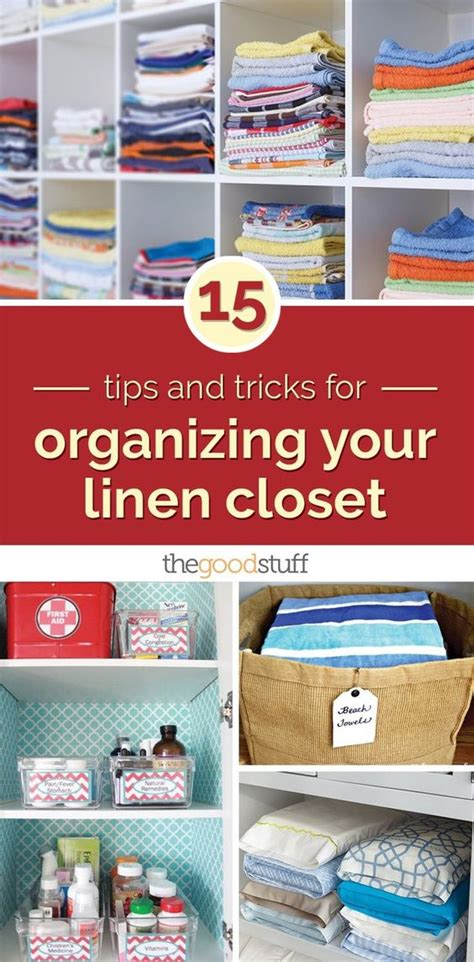 Closet Tips And Tricks by 15 Tips And Tricks For Organizing Your Linen Closet