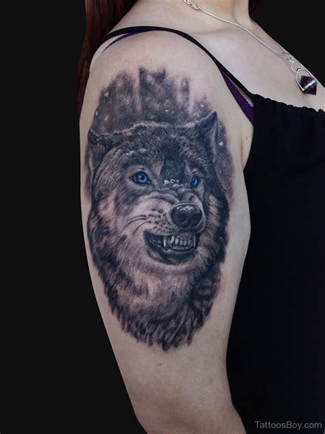 angry wolf tattoo 46 unique wolf tattoos ideas