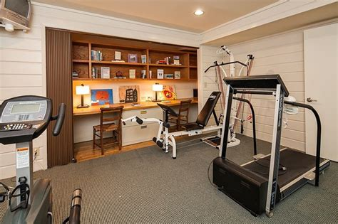 office exercise room ideas yarrow point water front home contemporary home seattle by seattle staged to sell