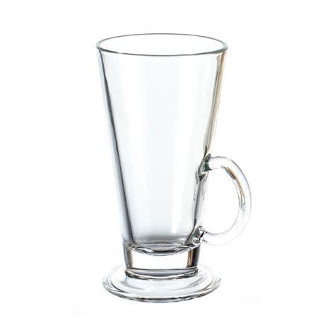 Gelas Latte montana clear glass boston latte glass set of 6