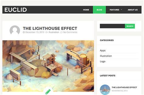 html5 templates for presentation euclid free html5 template creative beacon