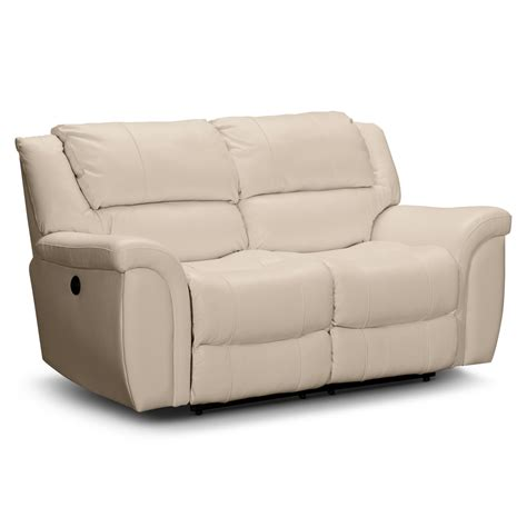 Leather Power Reclining Sofa And Loveseat Furnishings For Every Room And Store Furniture Sales Value City Furniture