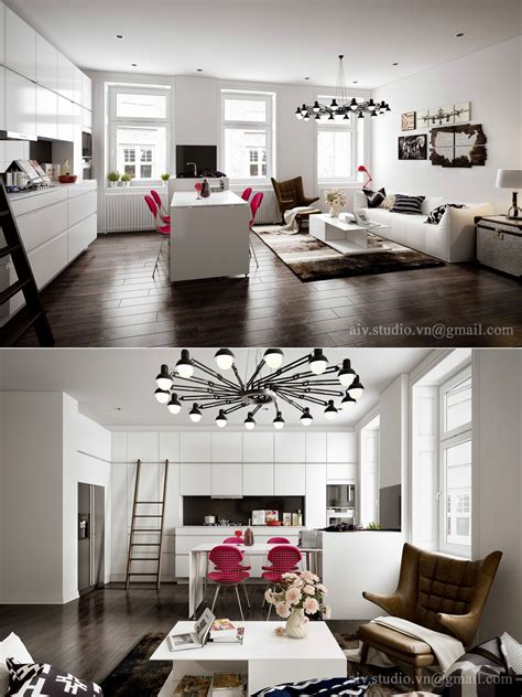 flat ideas studio apartment interiors inspiration