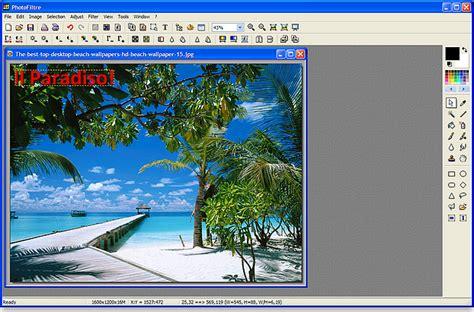 modificare foto con testo modificare foto con windows