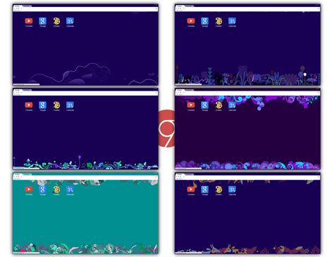 theme chrome flat 7 metro inspired themes for google chrome by underwatersun