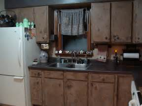 Primitive Decorating Ideas For Kitchen by Roadtrip Treasures Finished Primitive Kitchen Cabinets